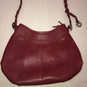 Red Soft leather purse